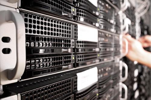Database administrator at work