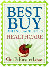 GetEducated.com Best Affordable Online Bachelors in Healthcare Degrees