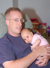 Ken Wiegman, GetEducated.com Scholarship winner, and daughter Erica