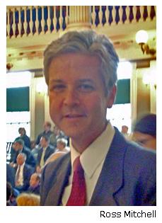 Ross Mitchell, online law school graduate