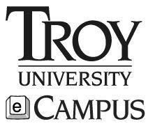 Troy eCampus logo