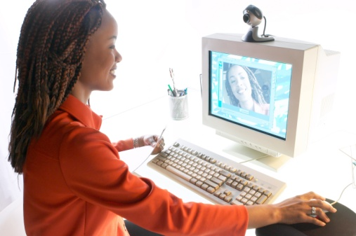 Video technology in online classes