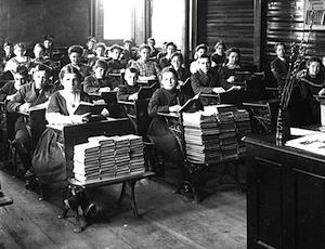 1907 classroom