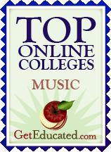 Top Online Music Schools Award