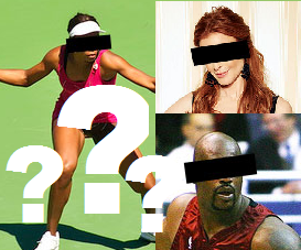 Famous online alumni, Venus Williams, Marcia Cross, and Dr. O'Neal (Shaq)