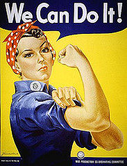 Picture of Rosie the Riveter with
