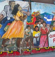 Burlington College is a Top Online Socially Progressive College|Political Mural in Burlington, VT