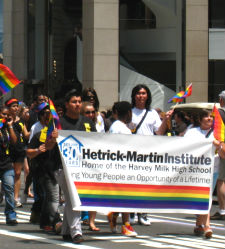 LGBTQ Youth Parade | Harvey Milk Gay High School