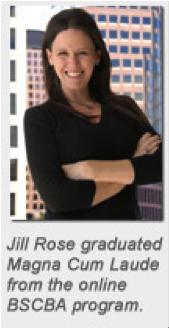 Jill Rose, University of Alabama Online Graduate