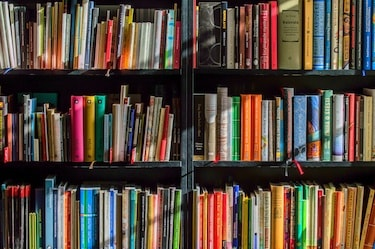 Online library science degree students must love books!