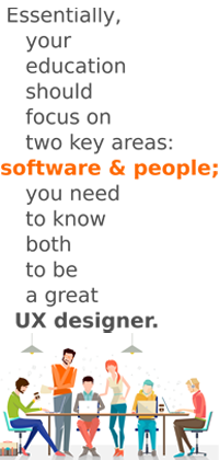Education Needed to Become a UX Designer