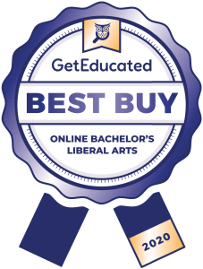 Cost rankings of online bachelor's degree in liberal arts