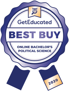 Bachelor of political science online cost rankings