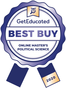 Online master's political science cost rankings