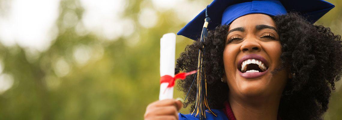 Earning a bachelor's degree
